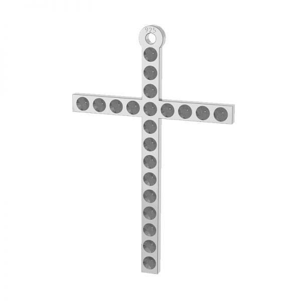 Trébol colgante plata 925, LKM-2119 (1028 PP 4)