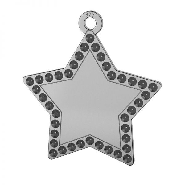 Cruzar colgante plata 925, LKM-2132 - 0,80 (1028 PP 4)