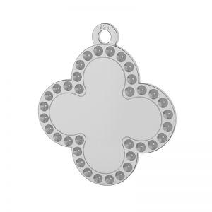Trébol colgante plata 925, LKM-2134 - 0,80 (1028 PP 4)