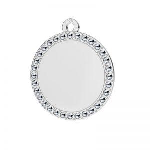 Redondo colgante plata 925, LKM-2133 - 0,80 ver.2