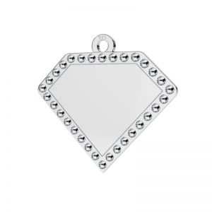 Diamante colgante plata 925, LKM-2142 - 0,80 ver.2