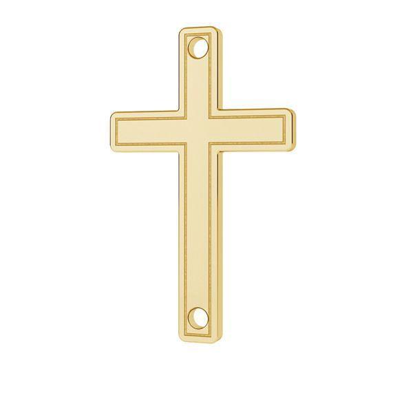 Crucifijo colgante oro 14K LKZ-00028 - 0,30 mm