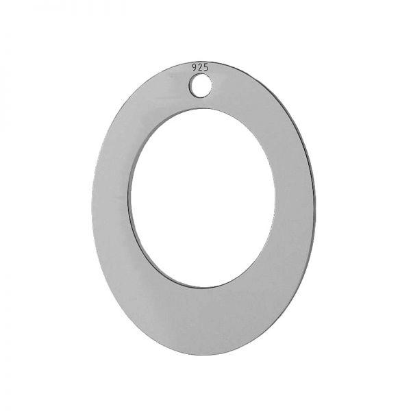 Rectángulo oval colgante, LKM-2084