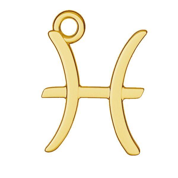 Colgante Piscis zodíaco, plata 925, ODL-00528