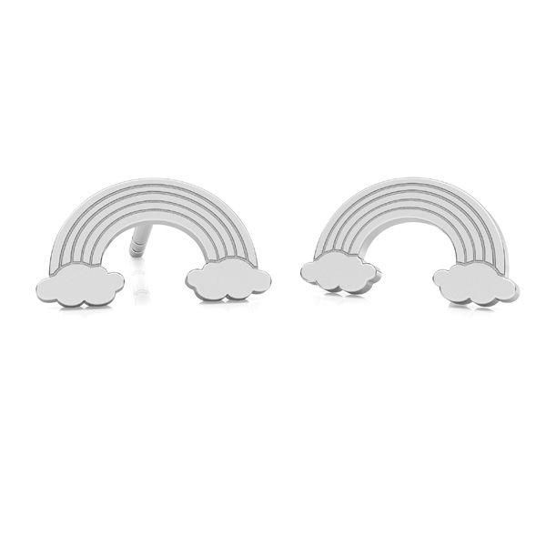 Arco irise aretes, plata 925, LK-2261 KLS - 0,50