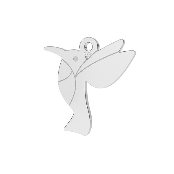 Colibrí colgante plata 925, LKM-2266 - 0,50