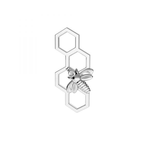 Abeja colgante, plata 925, ODL-00606