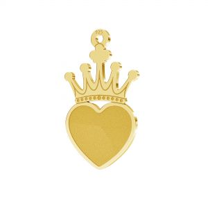 Corona colgante plata 925, LKM-2330 - 0,50