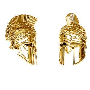 Colgante casco spartano*plata 925*ODL-00646