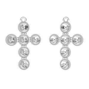 Corazón colgante Rivoli Swarovski, plata 925, ODL-00666 20,5x29,5 mm (5818 MM 6)