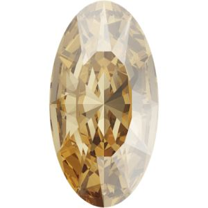 4162 MM 10,0X 5,5 CRYSTAL GOL.SHADOW F (Elongated Oval Fancy Stone)