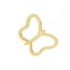 Mariposa colgante *oro AU 585 14K*LKZ-50015 - 03