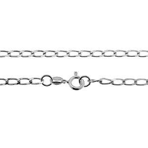 Cadena de la acera*plata 925*PD 70 (38 cm)