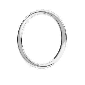 KCZ-1,00x16,0 - anillas soldados, plata 925