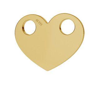 Corazón colgante*oro 333*LKZ8K-30007 - 0,30 9,4x12 mm