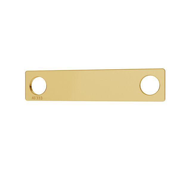 Rectángulo colgante *oro 333*LKZ8K-30008 - 0,30 5x23 mm