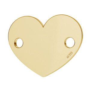 Corazón colgante*oro 333*LKZ8K-30018 - 0,30 10x12 mm