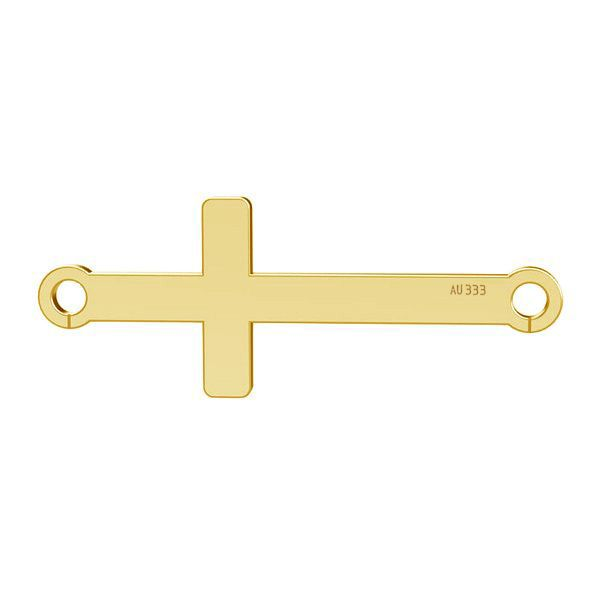 Cruz horizontal colgante*gold 333*LKZ8K-30020 - 0,30 9x23 mm