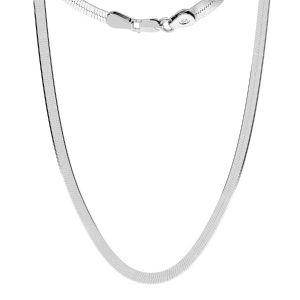 Cadena de serpiente*plata 925*MAG 050 33 cm