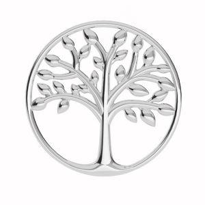 Árbol de la vida colgante plata 925, LKM-2028 - 0,50