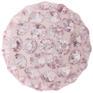 86601 MM10,0 06 223 - Cabochon Pave Light Rose