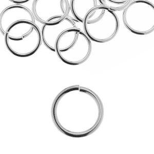 KC 1,5x6,2 mm - anillas, plata 925
