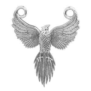 Fenix colgante*plata 925*ODL-00823 20x24 mm