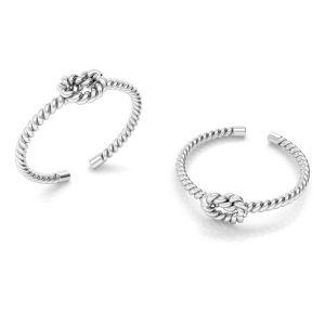 Cuerda anillo plata 925, ODL-00624