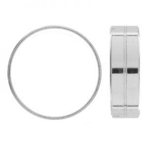 Anillo plata 925, RING 01430 7 mm - L (16,17,18)
