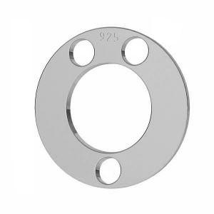 Redondo colgante plata 925, LKM-2892 - 0,80 5x5 mm