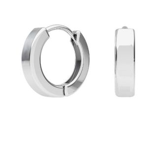 Round closed ear wire with loop - BZO 2