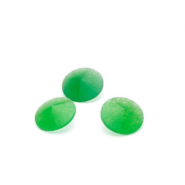 Crisoprasa verde 12 mm, piedra semipreciosa