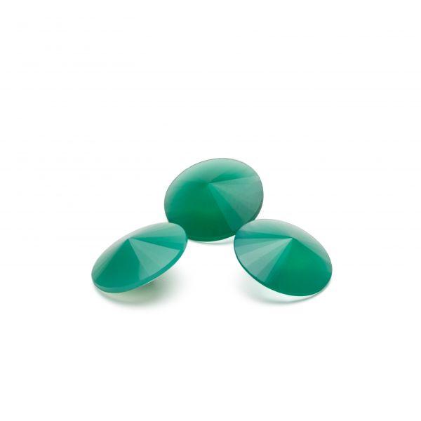 Jadeíta verde 12 mm, piedra semipreciosa