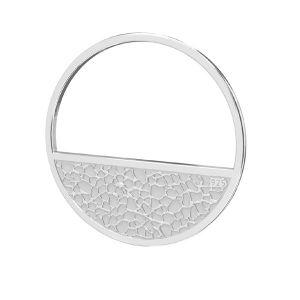 Redondo colgante plata 925, LKM-2745 - 0,50 18x18 mm