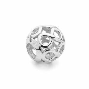 Atrapasueños redondas colgante*plata 925*BDS-00010 9,5x10,5 mm