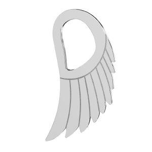 Alas colgante, plata 925, LKM-2221 - 0,50 8,8x15 mm