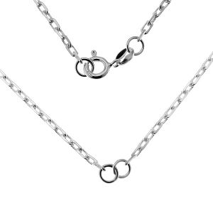 Base de collar, plata 925, CHAIN 54 AD 70 41 cm