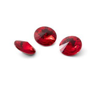 Redondo cristal 10mm, RIVOLI 10 MM GAVBARI LIGHT RED