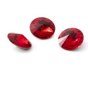 Redondo cristal 12mm, RIVOLI 12 MM GAVBARI LIGHT RED