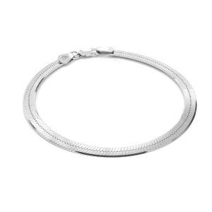 Pulsera de serpiente*plata 925*MAG 050 19 cm